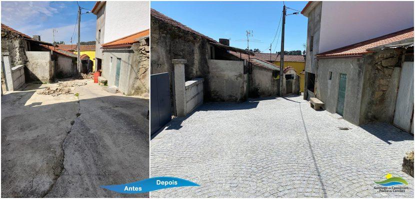 Rua do Sul - Póvoa de Cervães